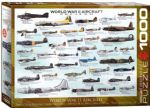 History of World War 11 Aircraft 1000 PC Puzzle